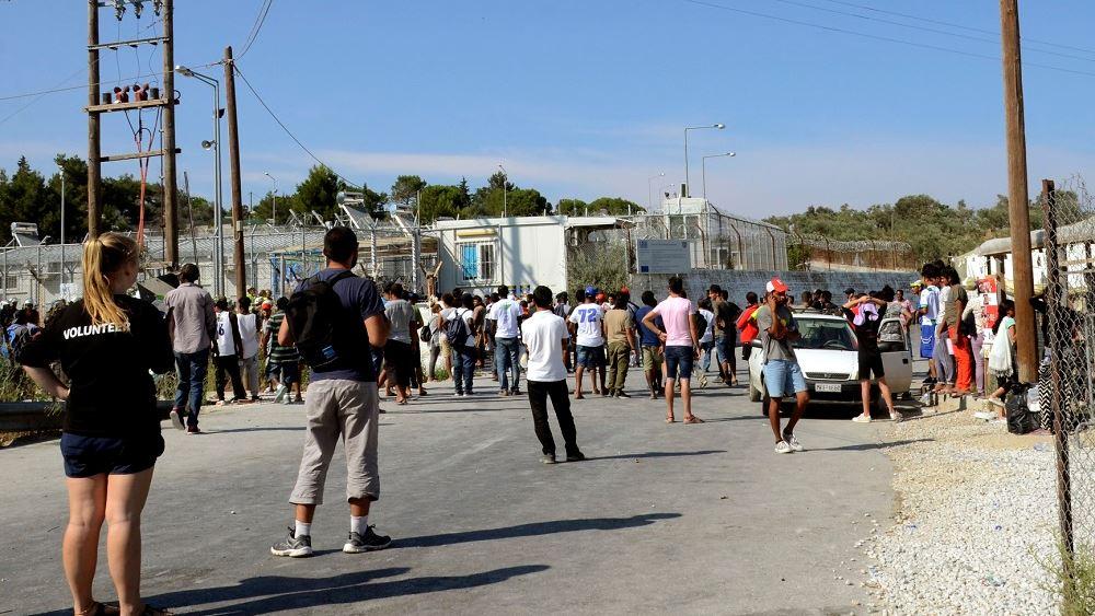 Επεισόδια στη Μόρια - Συμπλοκές μεταξύ μεταναστών