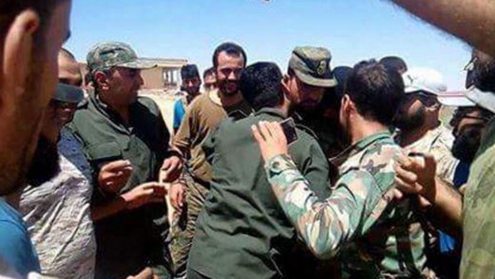 Συρία: Το ΙΚ έχασε την πόλη αλ Καριατάιν την οποία ανακατέλαβαν κυβερνητικά στρατεύματα