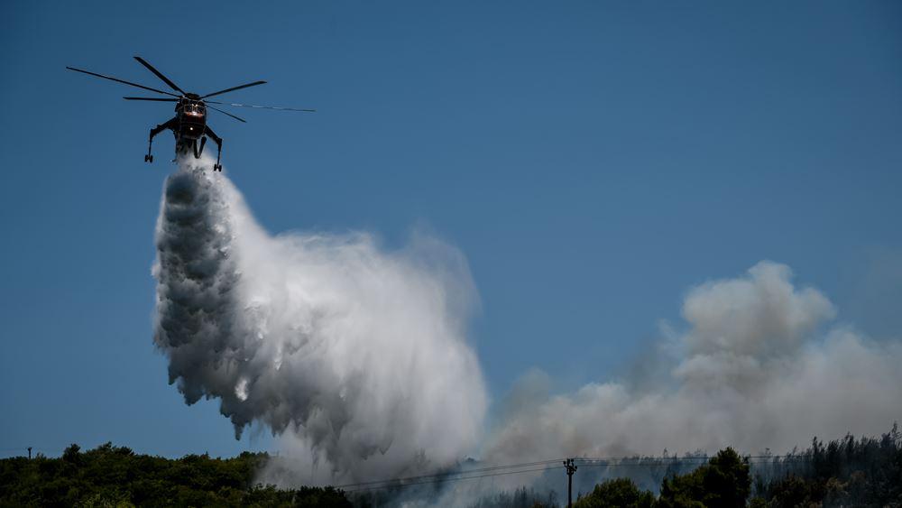 Πενήντα επτά πυρκαγιές σε ένα 24ωρο στην επικράτεια - Σε εξέλιξη στην Εύβοια, σε ύφεση στον Βαρνάβα