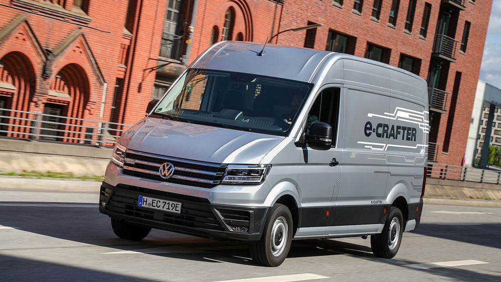 Το νέο Volkswagen e-Crafter στην ελληνική αγορά