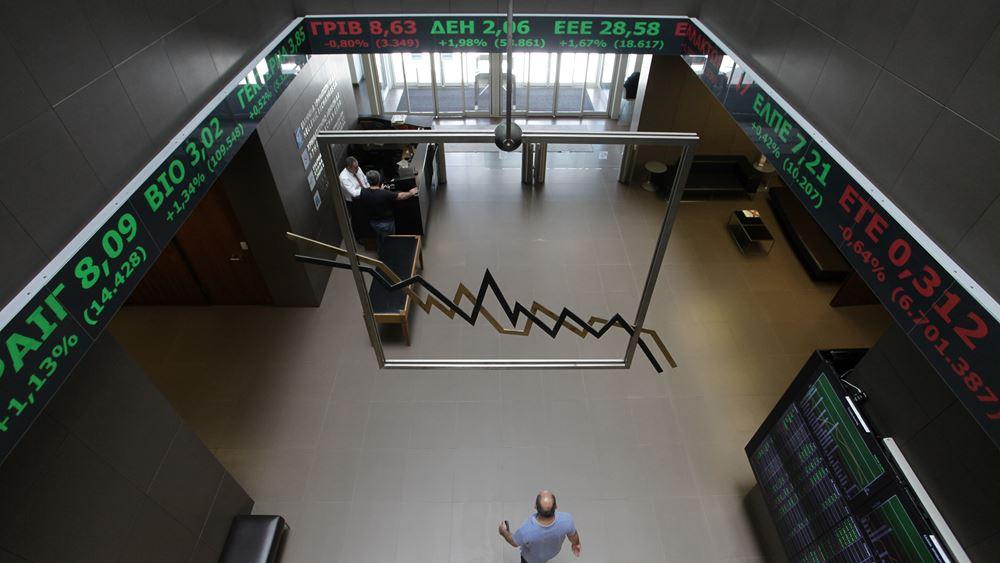 Μικρό προβάδισμα στους αγοραστές στο Χρηματιστήριο Αθηνών