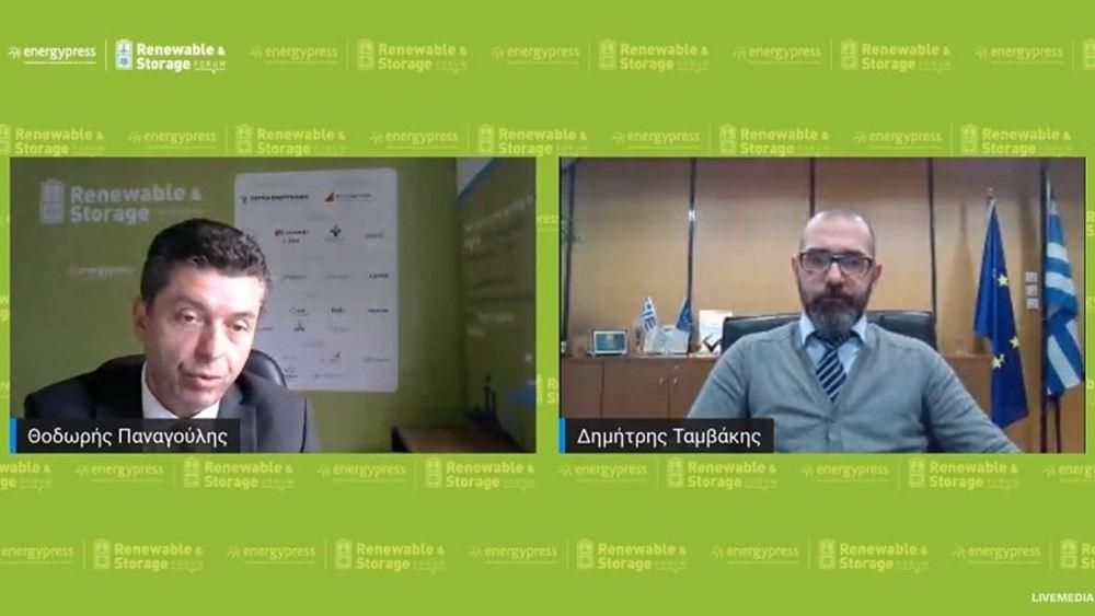 """Δ. Ταμβάκης: Η νέα στρατηγική της ΔΕΠΑ για τη δημιουργία ενός """"πράσινου"""" χαρτοφυλακίου"""