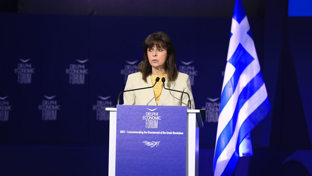 Κ. Σακελλαροπούλου: Να επιδείξουμε αυτοσυγκράτηση και ενότητα
