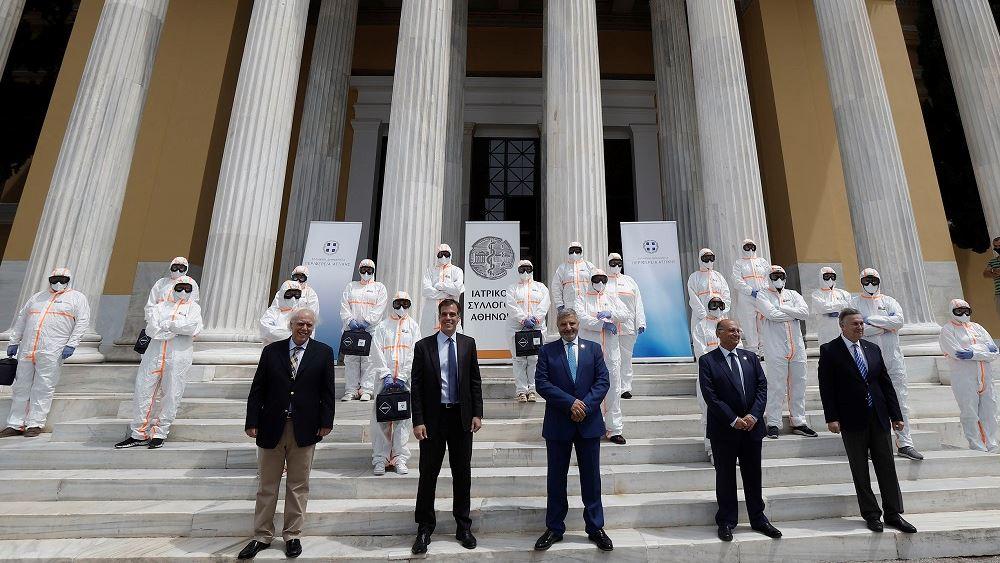 Η Περιφέρεια Αττικής και ο ΙΣΑ ενισχύουν τον ΕΟΔΥ με Κινητές Ομάδες ιατρών και νοσηλευτών