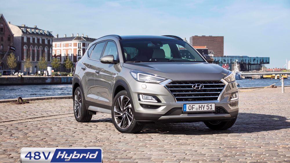 Με τιμή απο €24.990 το νέο Hyundai Tucson 48V Hybrid