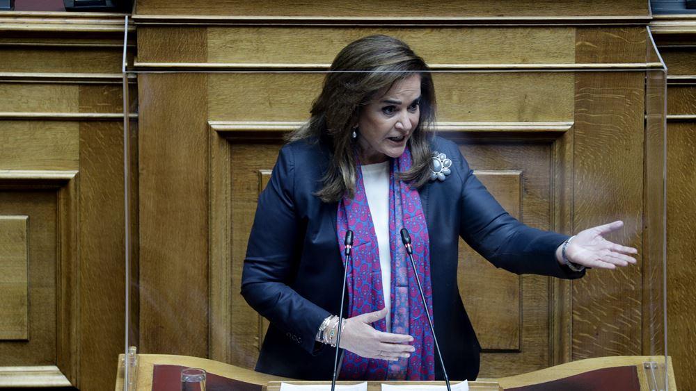 Η Ντ. Μπακογιάννη πρόεδρος της διακομματικής κοινοβουλευτικής επιτροπής για την ανάπτυξη της Θράκης
