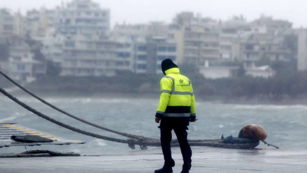 Κλειστές οι ακτοπλοϊκές γραμμές από Κυλλήνη λόγω δυσμενών καιρικών συνθηκών