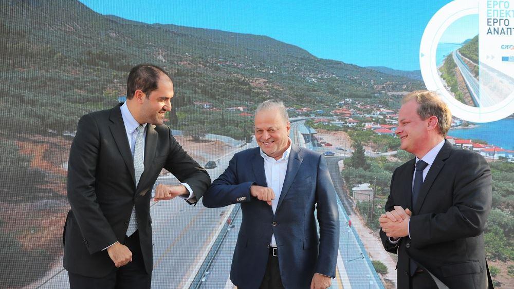 """Η MYTILINEOS παρέδωσε τη νέα διπλή σιδηροδρομική γραμμή του τμήματος """"Κιάτο - Ροδοδάφνη"""""""