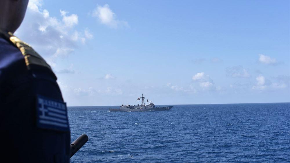 Ολοκληρώθηκαν οι ασκήσεις του Πολεμικού Ναυτικούσε Αιγαίο, Μυρτώο καιΚρητικό πέλαγος