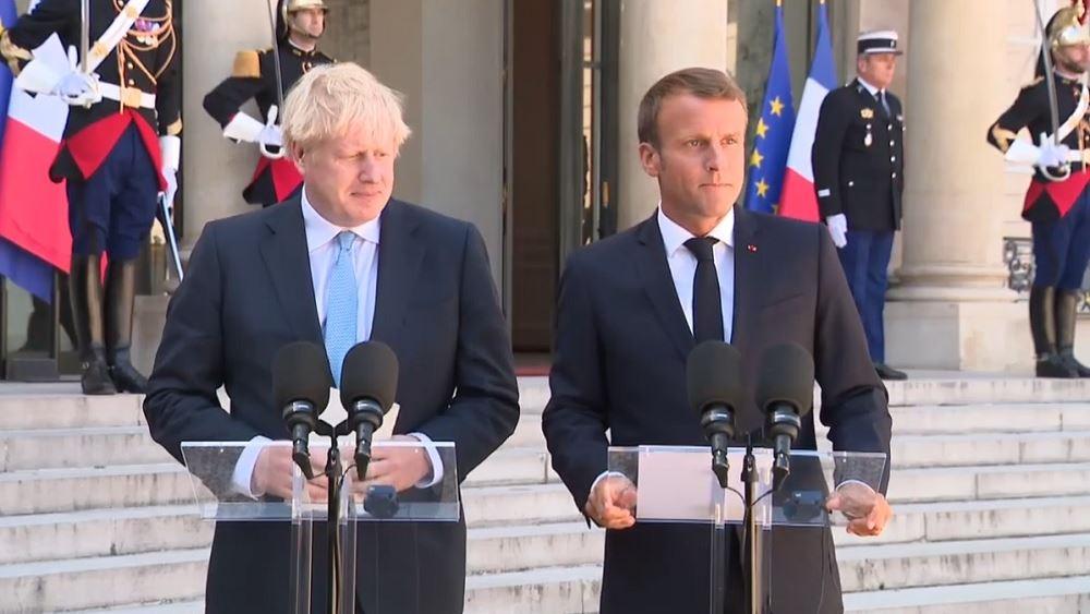 Επικοινωνία Μακρόν - Τζόνσον: Η Βρετανία θέλει να αποκαταστήσει τη συνεργασία της με τη Γαλλία