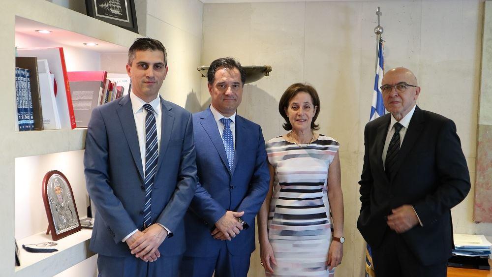 Συνάντηση Αδ. Γεωργιάδη με την Πρέσβη του Ισραήλ στην Ελλάδα