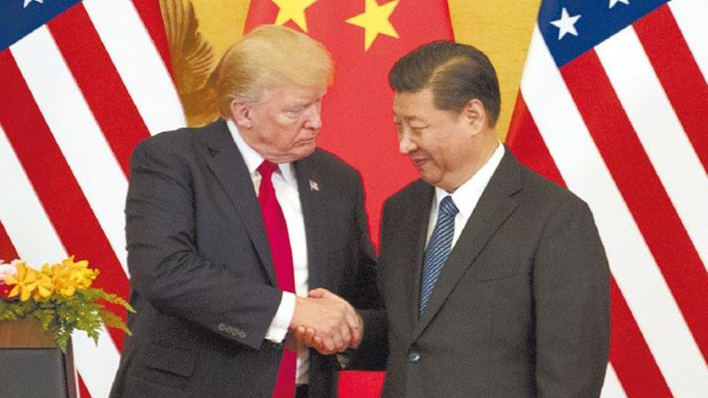 """Συμφωνία """"Πρώτης Φάσης"""" ΗΠΑ-Κίνας για το εμπόριο με έγκριση Τραμπ - Αναστέλλονται οι νέοι δασμοί"""