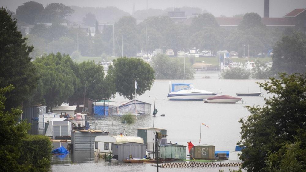 Σοβαρές πλημμύρες στη νότια Ολλανδία - Έκκληση στους κατοίκους να εγκαταλείψουν τα σπίτια τους