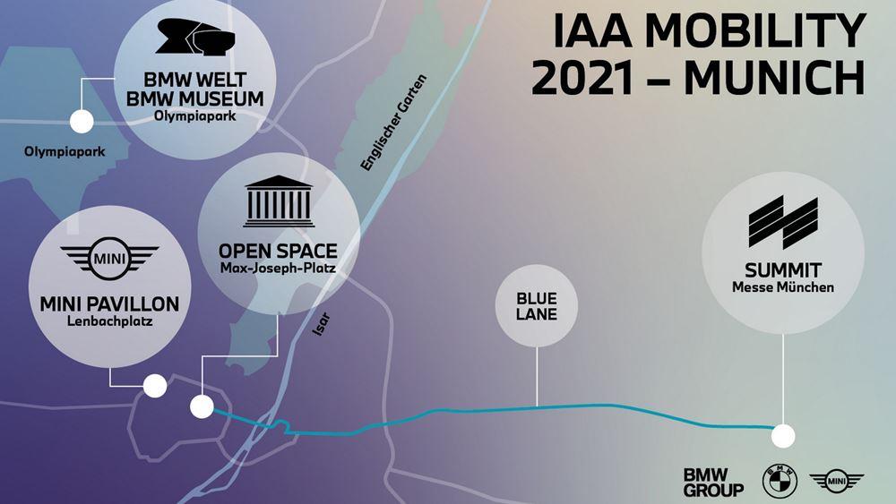 Το BMW Group στο Σαλόνι Αυτοκινήτου IAA Mobility 2021