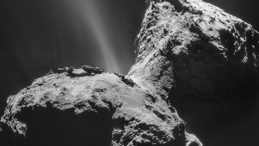 Για πρώτη φορά ανακαλύφθηκε σέλας σε έναν κομήτη