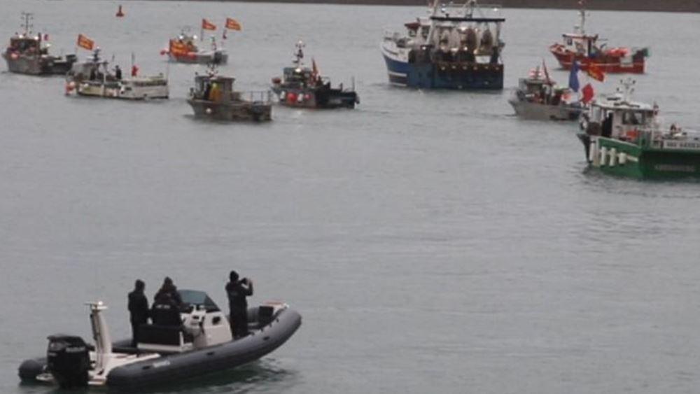 Αξιωματούχοι του Τζέρσεϊ θα συναντηθούν με τους ψαράδες - Περιπολικά πλοία στέλνει η Γαλλία