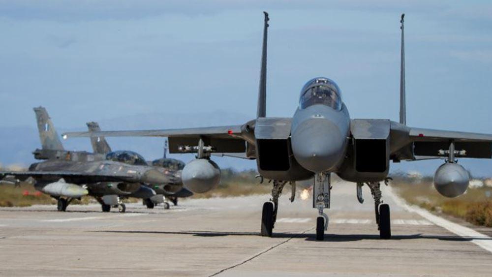 Ολοκληρώθηκε η διμερής άσκηση των Ενόπλων Δυνάμεων με την αεροπορία της Σαουδικής Αραβίας