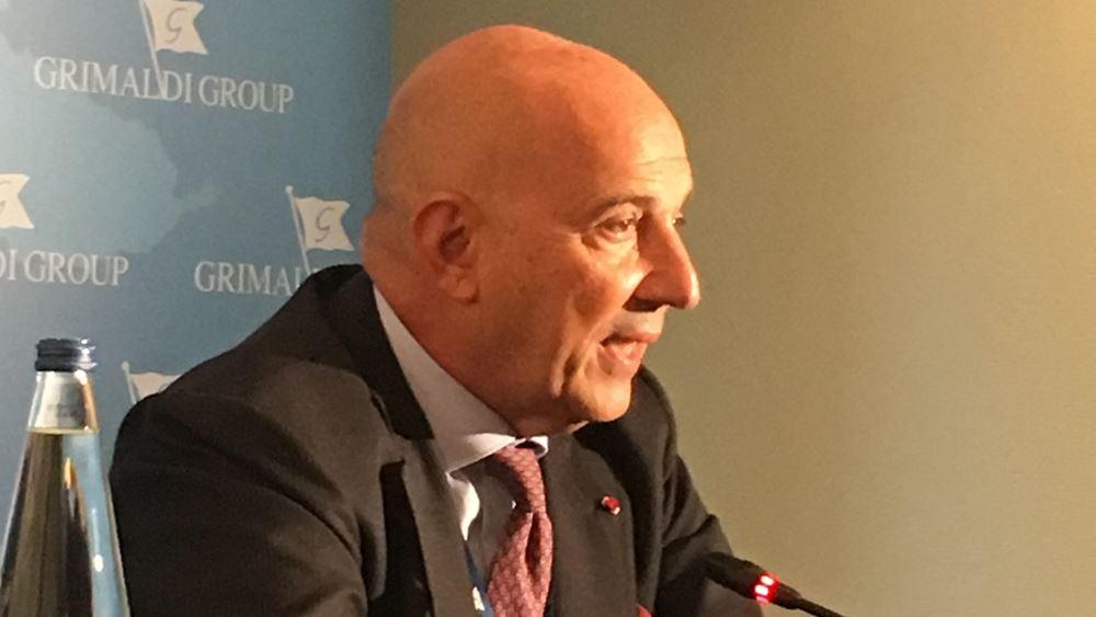 Στα ηνία του Διεθνούς Ναυτιλιακού Επιμελητηρίου ο Emanuele Grimaldi