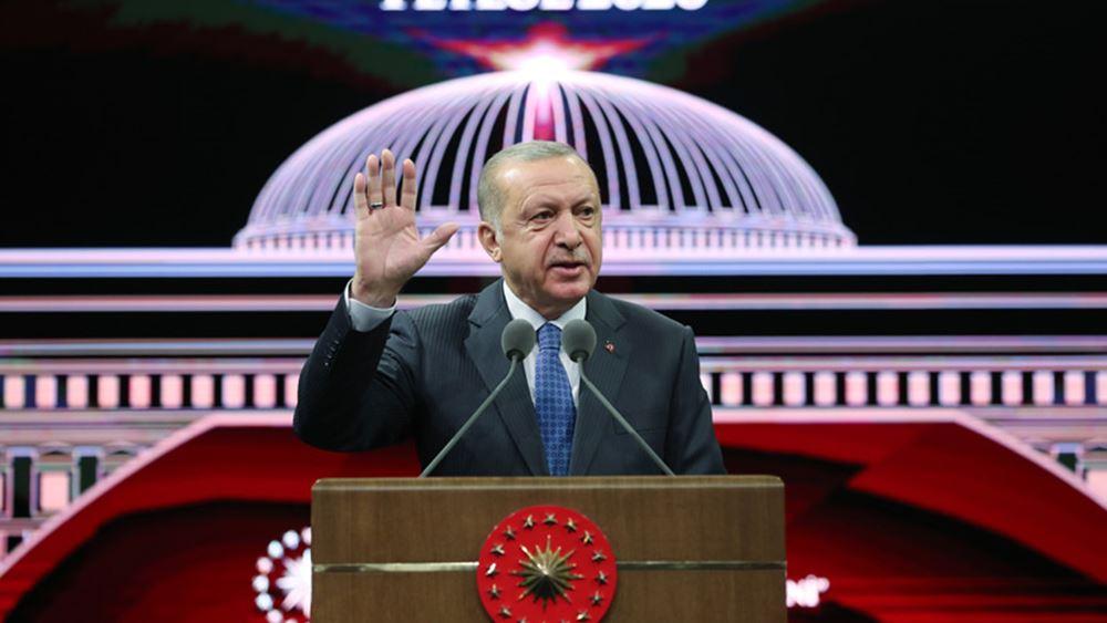 Ερντογάν: Μπορούμε να εφαρμόσουμε πολιτική win-win