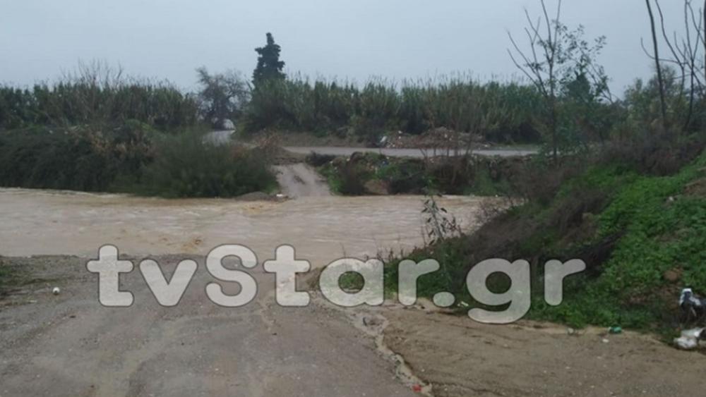 Χαλκίδα: Εκκένωση σπιτιών - Υπερχείλισε ο ποταμός Λήλαντας