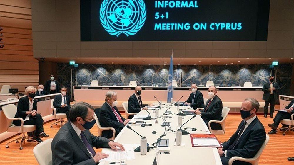 Συνεχίζονται οι διαβουλεύσεις για το Κυπριακό στη Γενεύη