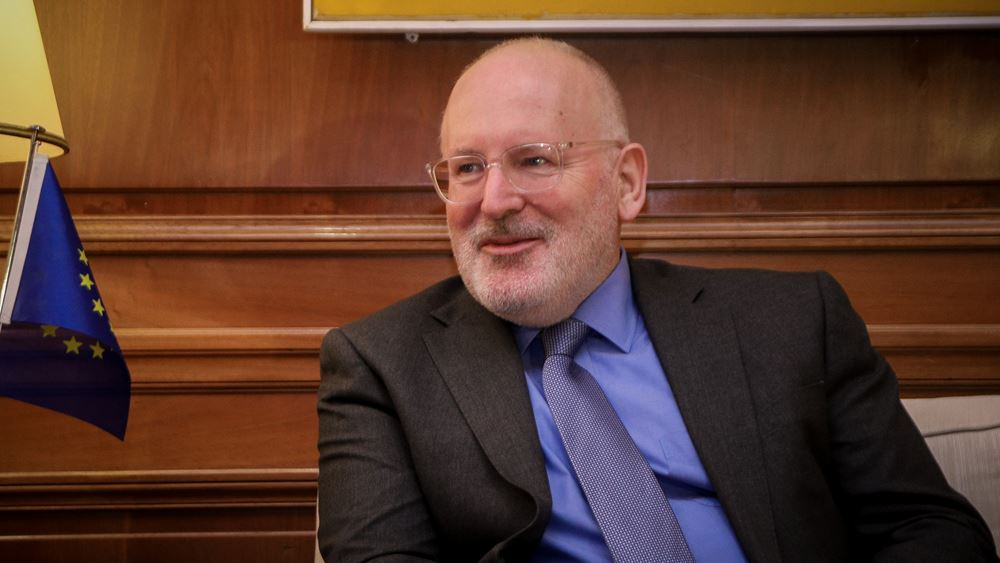 """Τίμερμανς: Ο Μητσοτάκης είναι ο πιο """"πράσινος"""" πρωθυπουργός που είχε ποτέ η Ελλάδα"""