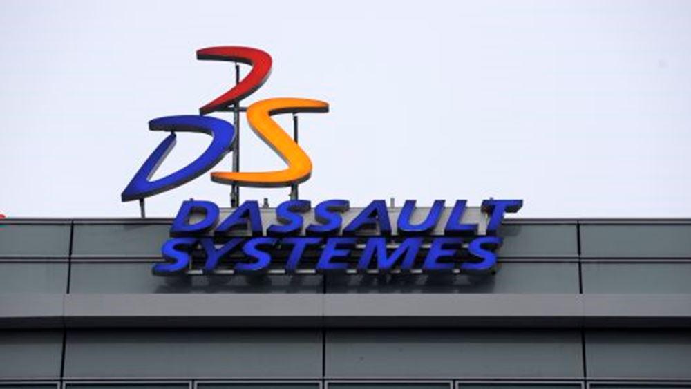 Dassault Systemes: Αυξήθηκαν κέρδη και έσοδα τριμήνου