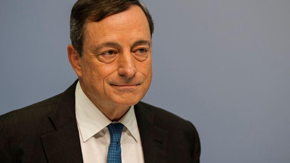 Draghi: Στο χέρι της Ελλάδας να αποφασίσει για τέταρτο πρόγραμμα