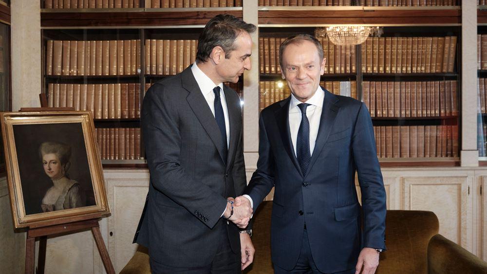 Ντ. Τουσκ: Η συμφωνία Τουρκίας-Λιβύης είναι παράνομη, προκλητική και δημιουργεί αστάθεια στην ευρύτερη περιοχή