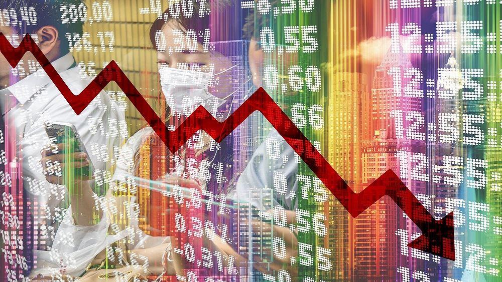 Ο φόβος για την αύξηση των κρουσμάτων κορονοϊού έφερε απώλειες στις ευρωαγορές