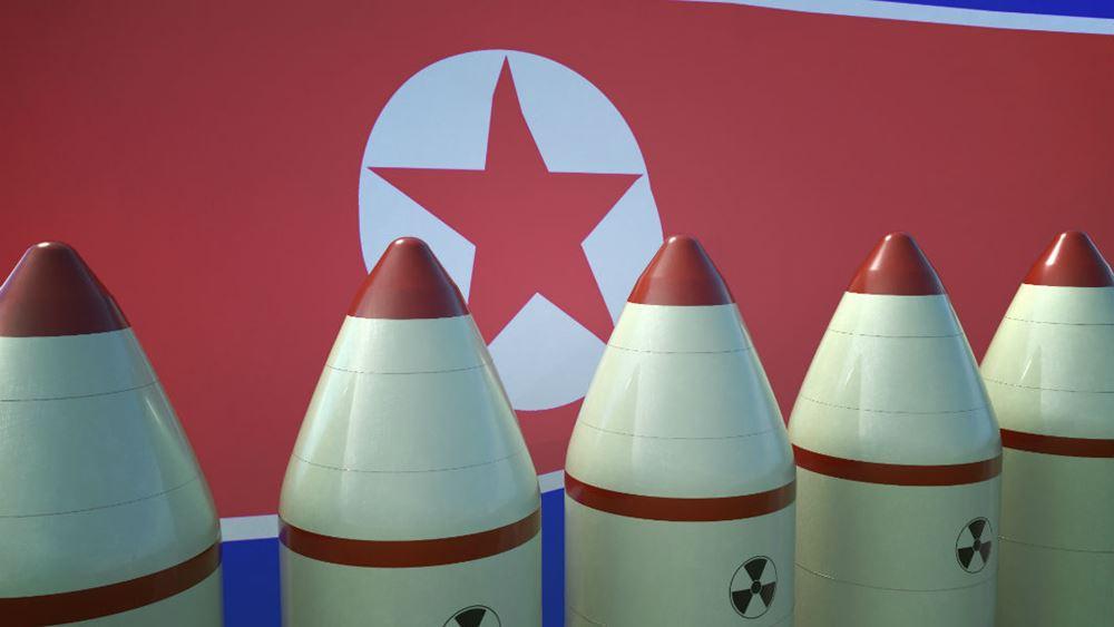 """Η Βόρεια Κορέα εκτόξευσε νέο βαλλιστικό πύραυλο - """"Θα το τακτοποιήσουμε"""", λέει ο Τραμπ"""