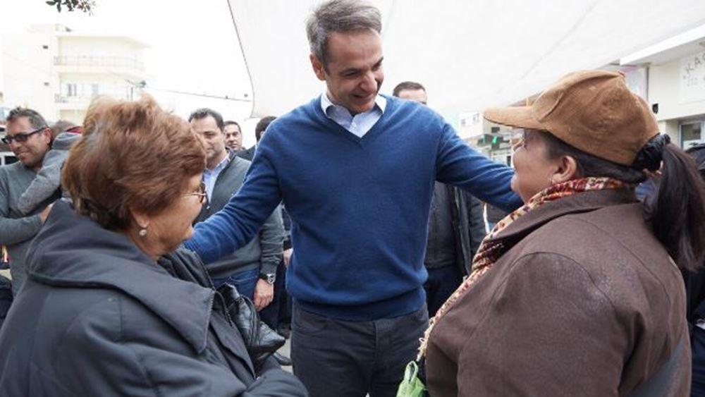 Κ. Μητσοτάκης: Βρισκόμαστε απέναντι στη Συμφωνία των Πρεσπών
