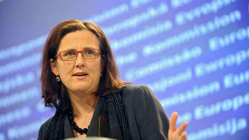 ΕΕ καλεί Κίνα σε μεταρρύθμιση του ΠΟΕ, για να μην αποχωρήσουν οι ΗΠΑ