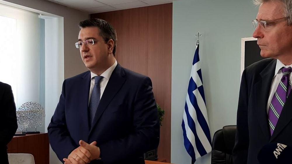 Συνάντηση Πάιατ - Τζιτζικώστα: Προτεραιότητα η υποστήριξη της ταχείας επιστροφής της Ελλάδας στην οικονομική ανάκαμψη