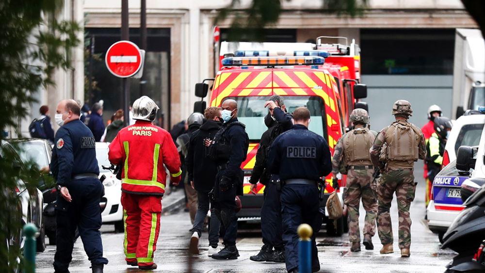 Επίθεση με μαχαίρι κοντά στα παλιά γραφεία της Charlie Hebdo στο Παρίσι - Συνελήφθησαν δύο ύποπτοι