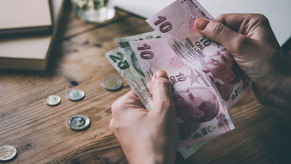 """""""Έρχεται ταχύτερη αποδυνάμωση της τουρκικής λίρας"""", λέει η ιαπωνική τράπεζα MUFG"""