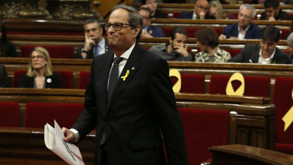 Καταλωνία: Ο τοπικός πρωθυπουργός καλεί την ισπανική κυβέρνηση σε συνομιλίες για αυτοδιάθεση