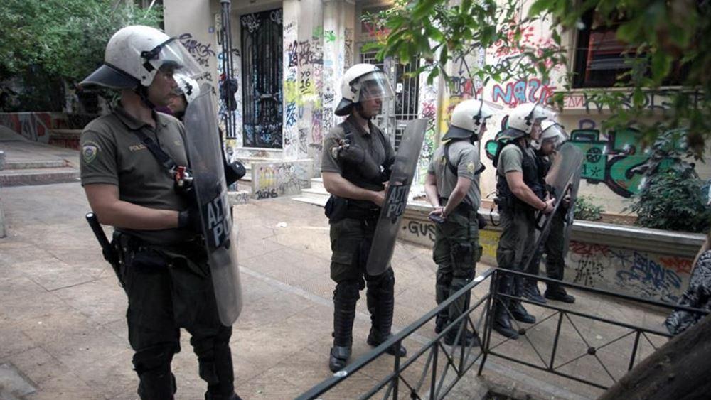 Ανάληψη ευθύνης για επίθεση κατά αστυνομικών στα Εξάρχεια
