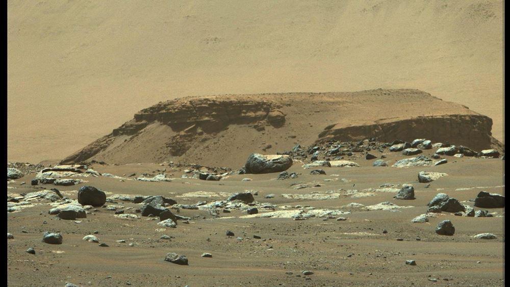 ΝASA: Το Perseverance κινείται μέσα σε μια μεγάλη αρχαία λίμνη του Άρη