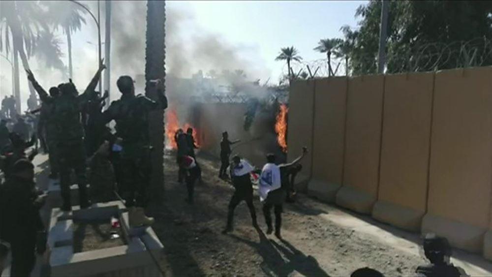 Ιράκ: Ενισχύθηκε η ασφάλεια στην πρεσβεία των ΗΠΑ στη Βαγδάτη