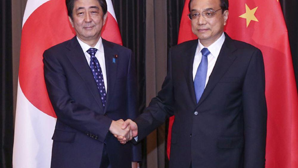 Άμπε: Καμία βελτίωση στις σχέσεις Ιαπωνίας - Κίνας χωρίς σταθερότητα στην Ανατολική Σινική Θάλασσα