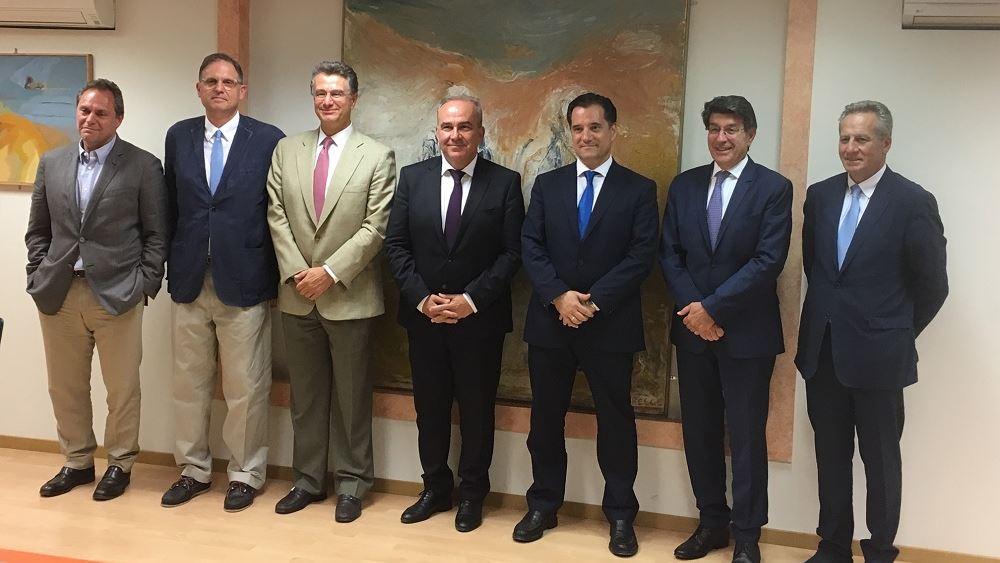 Συνάντηση Άδ. Γεωργιάδη με τη διοίκηση του ΣΕΒ