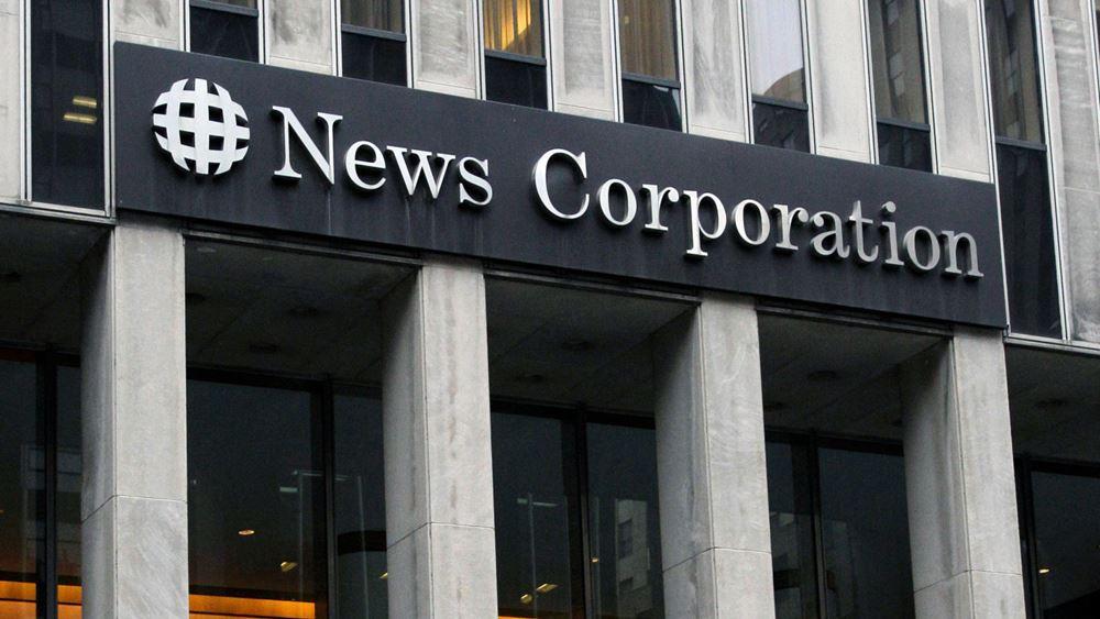 Η News Corp., ιδιοκτήτρια της Wall Street Journal, εξαγόρασε την Oil Price Information Service έναντι 1,15 δισ. δολ.