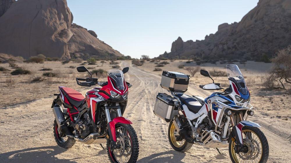 Νέα Μοντέλα CRF1100L Africa Twin και Africa Twin Adventure Sports