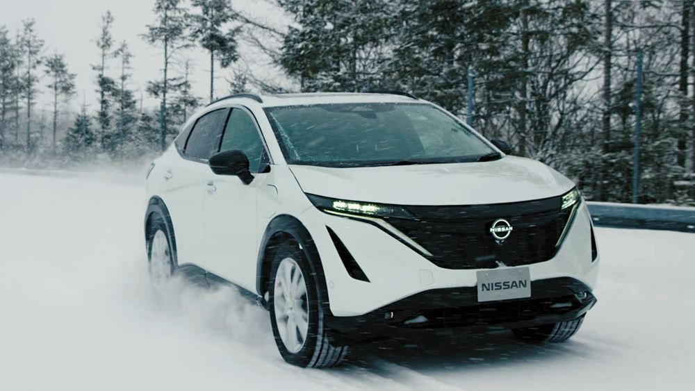 Οι δοκιμές εξέλιξης του ηλεκτρικού Nissan Ariya