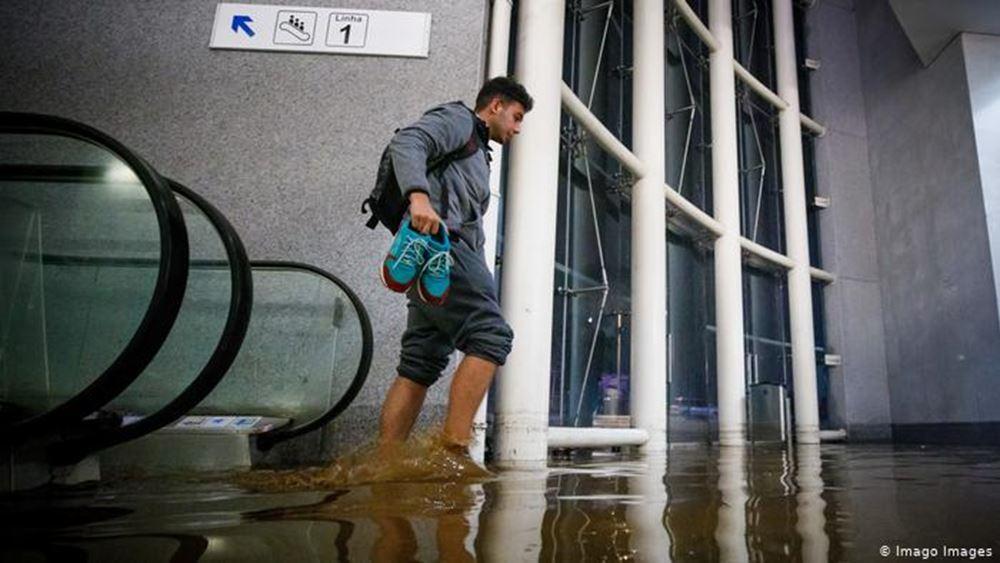 Δύο νεκροί, ένας αγνοούμενος και πλημμύρες στην Κορσική από την καταιγίδα Έλσα