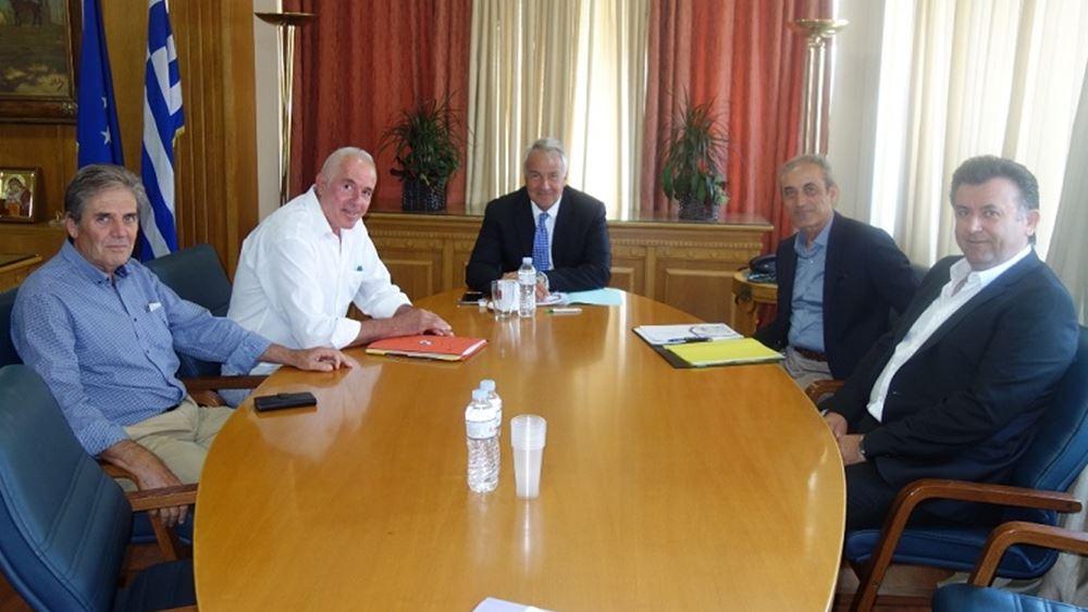 Συνάντηση Βορίδη με εκπροσώπους του αμπελοοινικού τομέα