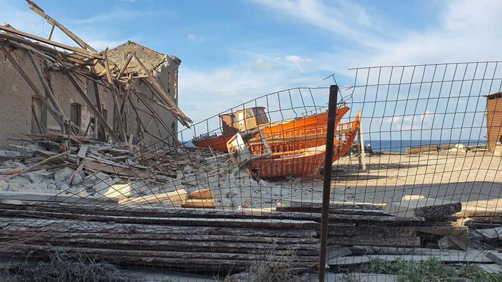 Σεισμός 6,7 Ρίχτερ στη Σάμο - Ζημιές σε σπίτια - Καταστροφές και στη Σμύρνη