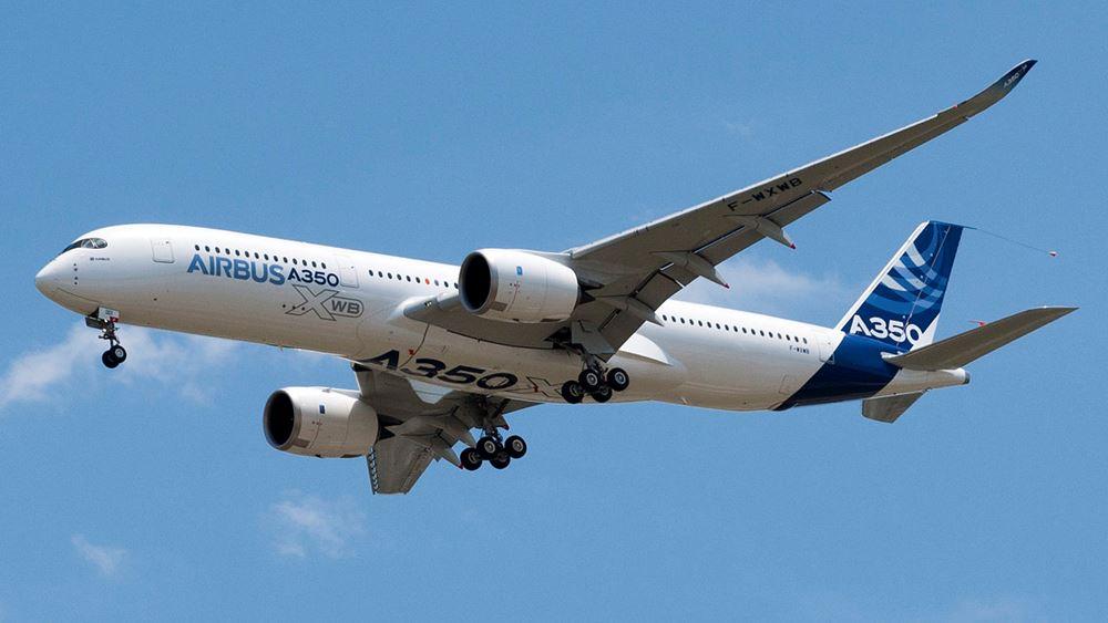 Airbus: Μειωμένες κατά 34% οι παραδόσεις αεροσκαφών στο 11μηνο