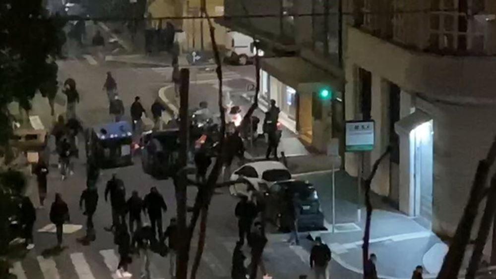 Ένταση στην Ρώμη: Η αστυνομία χρησιμοποίησε αντλίες για να διαλύσει νεοφασίστες